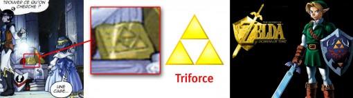 Triforce tirée de Zelda