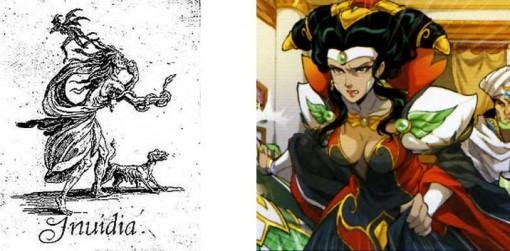 Invidia est la déesse de l'envie et de la jalousie