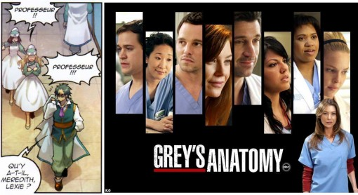 Merdith et Lexie (Grey's Anatomy)