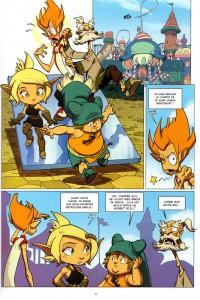 Page 1 de Shak Shaka tome 2 (Wakfu)