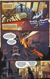 Page 2 du comics Diablo 3 : L'épée de Justice