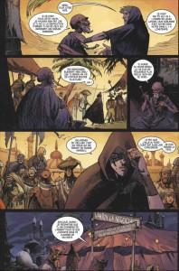 Page 4 du comics Diablo 3 : L'épée de Justice