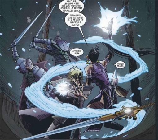 Shanar protège Jacob face à ses assaillants