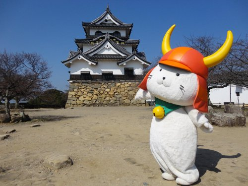 Hikonyan est la mascotte de la ville de Hikone, l