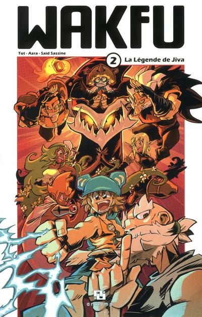Manga wakfu tome 2