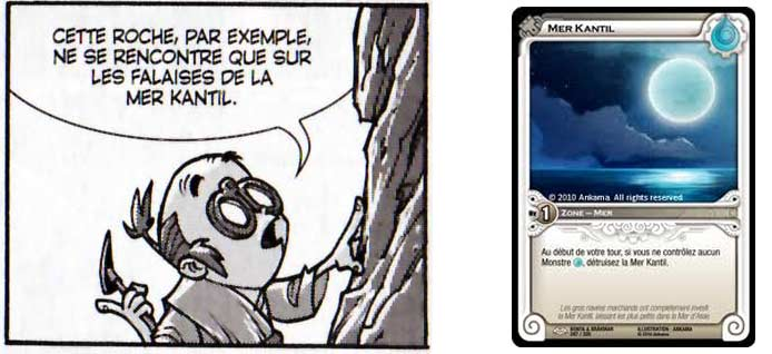 Mer Kantil (Dofus Monster et carte Wakfu TCG)