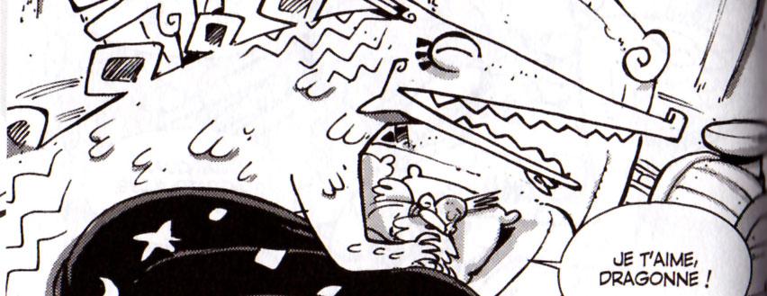 le dragon Groukakoss et Clustus