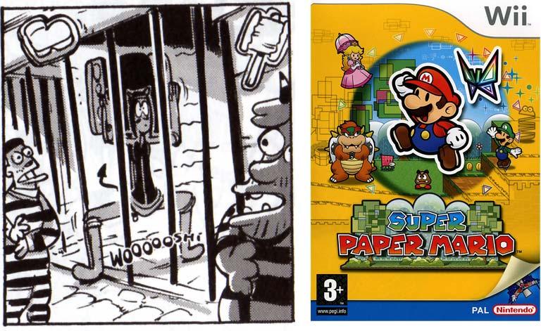 Lethaline fait référence au jeu Paper Mario.