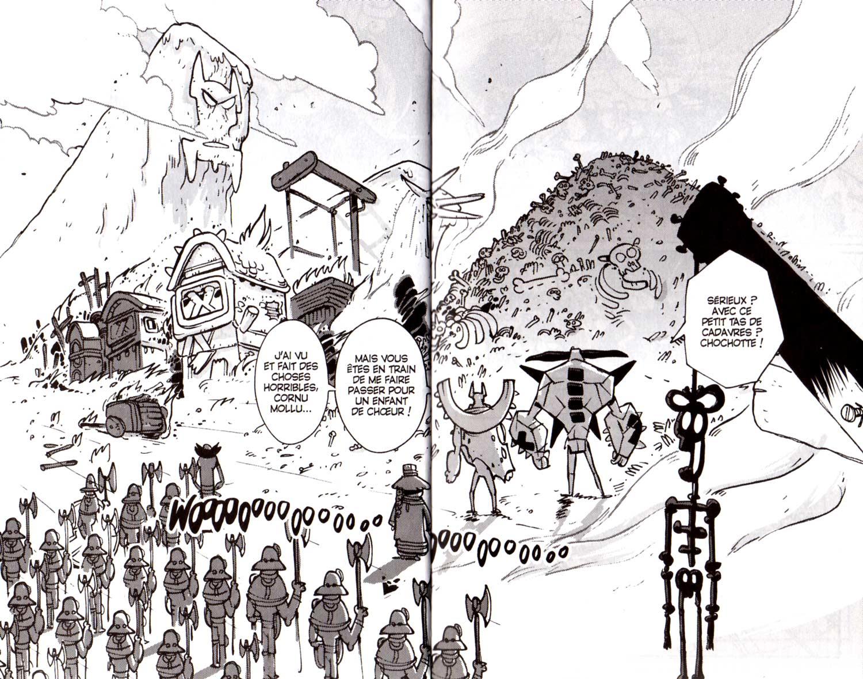 page 1 et 2 du tome 19 de Dofus : La baraque dans les bois