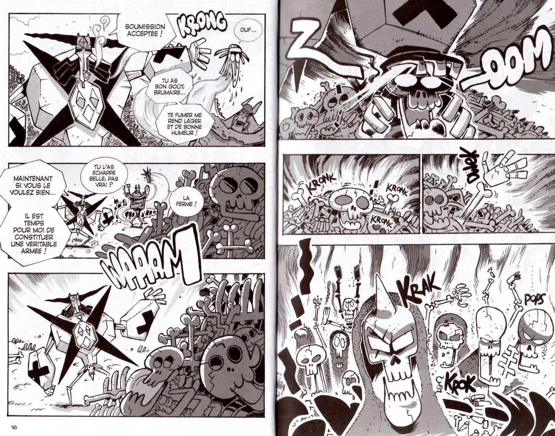 page 7 et 8 du tome 19 de Dofus : La baraque dans les bois
