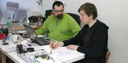 Philippe Zytka et Trass'Bill