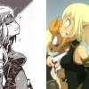 Evangelyne comparaison Animé - Manga