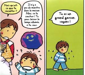 Difficile d 'expliquer ses craintes aux parents