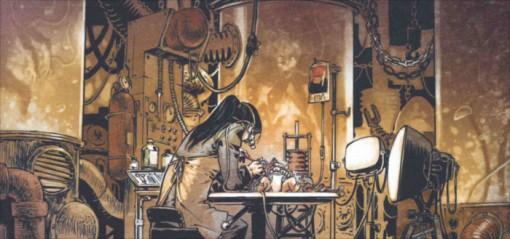 Etabli de Seraphon, la mère de Pretorius