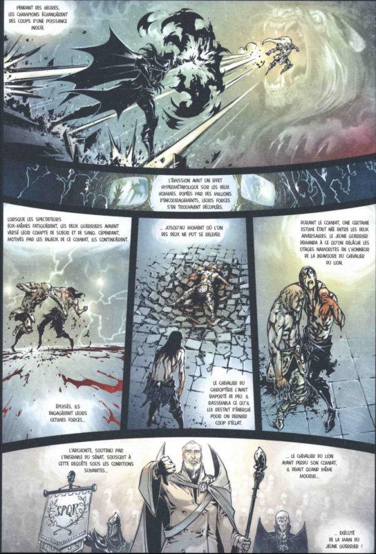 Page 4 de Freaks' Squeele - Funérailles - T1 : Fortunate Sons