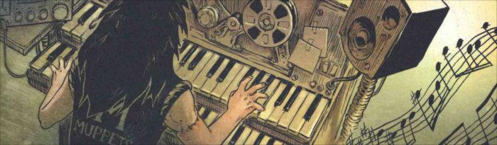 Grâce à sa mère qui lui a recousu un bras, Pretorius joue du piano