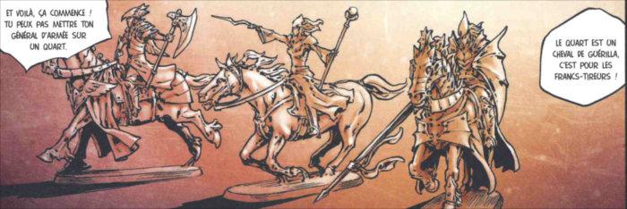 Figurine de la pucelle d'Ark inspirée de Jeanne d'Arc