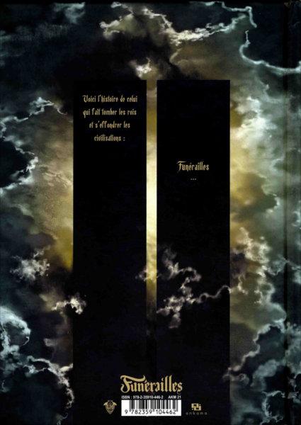 Quatrième de couverture de la BD Freaks' Squeele - Funérailles - T1 : Fortunate Sons)
