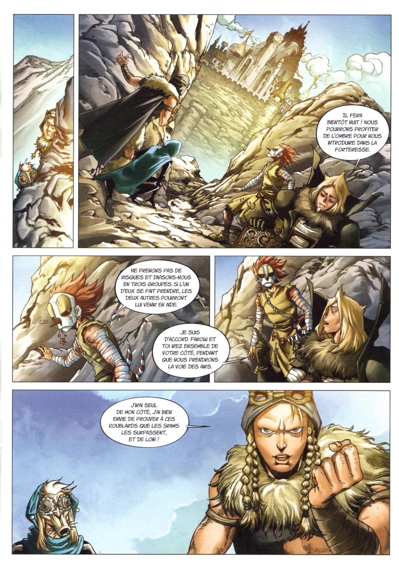 Page 1 du Maskemane N°11 - Comics Wakfu