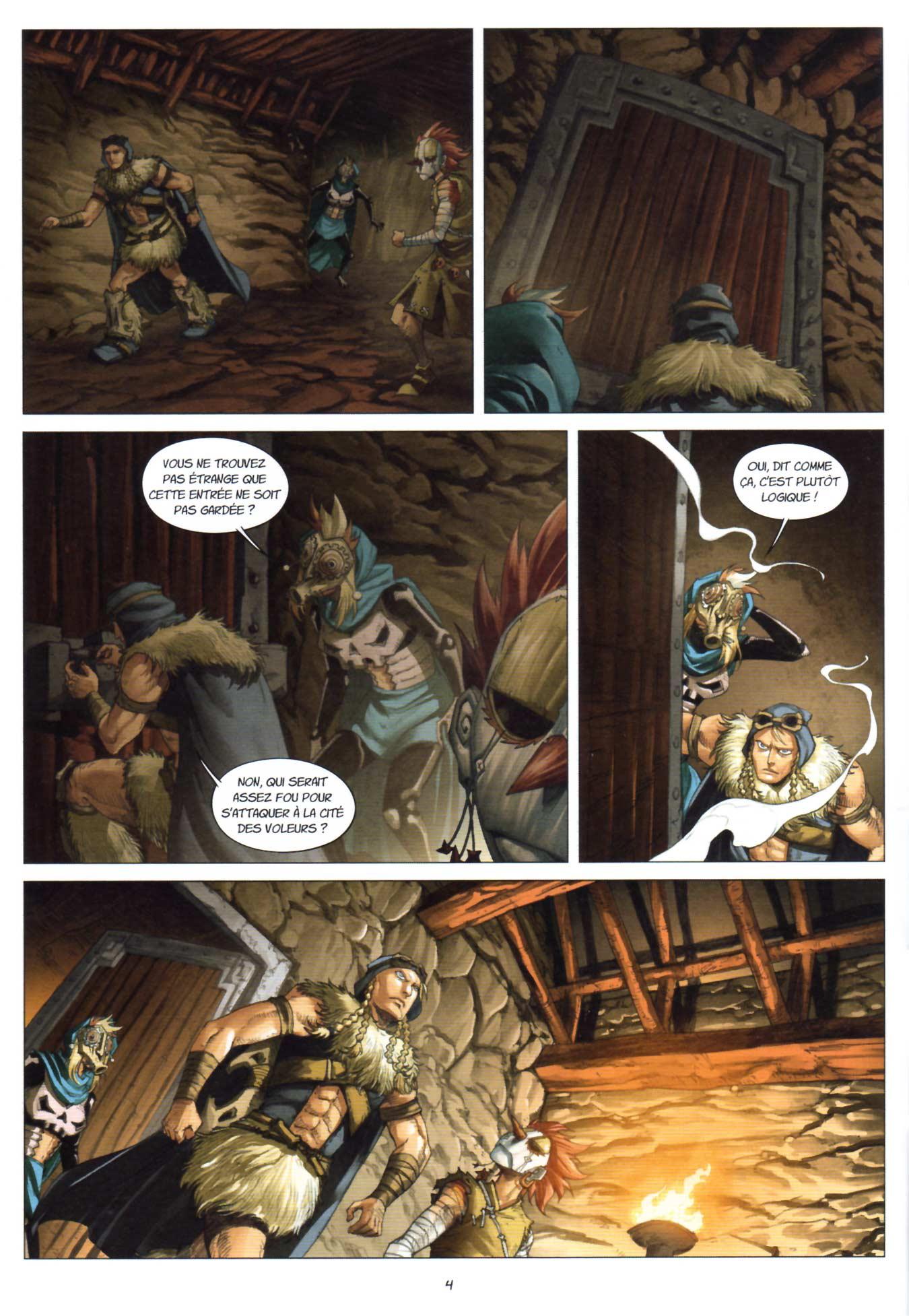 Page 4 du Maskemane N°11 - Comics Wakfu