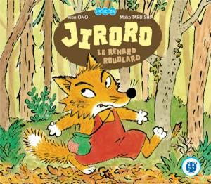Couverture du livre pour enfant Jiroro le renard roublard