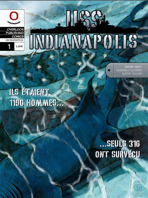 Couverture du comics USS Indianapolis
