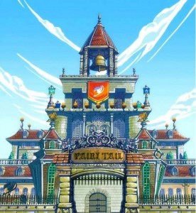 Fairy tail - Hall de Guilde