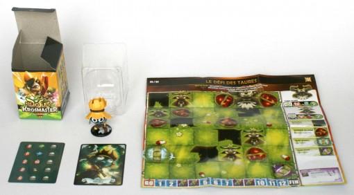 Contenu de la boîte Blind Box de la Figurine Krosmaster Percimol (Wakfu)