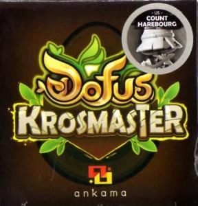 dessus du packaging du Comte Frigost - Krosmaster (Wakfu - Dofus)