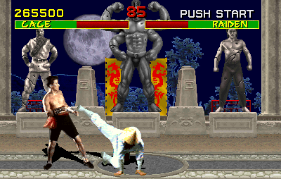 Capture du jeu vidéo Mortal Kombat