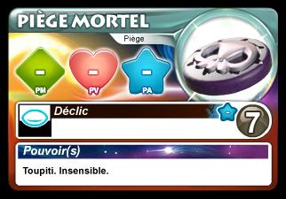 Carte Piège Mortel Krosmaster