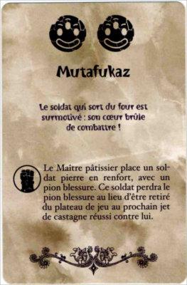 Carte Mutafukaz du jeu de société Chocafrix'