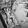 Claidheamor sort de l'épée d'Ange après son sacrifice auprès de la mort