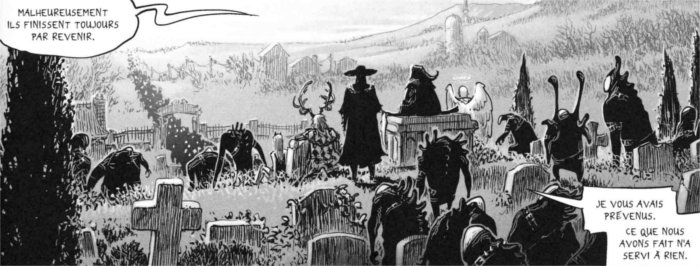 Défense du cimetière, le 6ème niveau des enfers