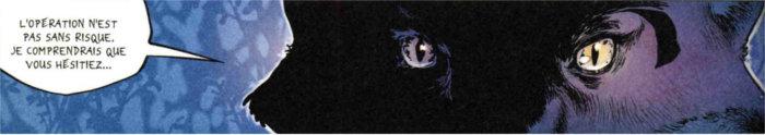 Kitsune demande à Xiong Mao et Ombre de Loup de suivre son rituel pour leur redonner la mémoire