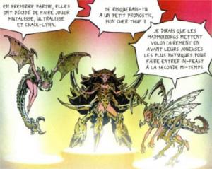 Référence à Starcraft 2 avec des unités Zerg qui seront les ennemis du groupe de Sablon
