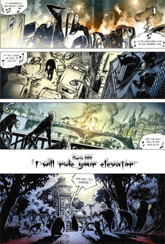 Page 1 du tome 6 de Freaks' Squele : Clémentine (par Florent Maudoux)