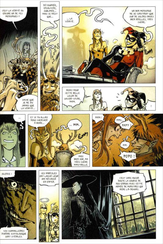 Page 3 du tome 6 de Freaks' Squele : Clémentine (par Florent Maudoux)