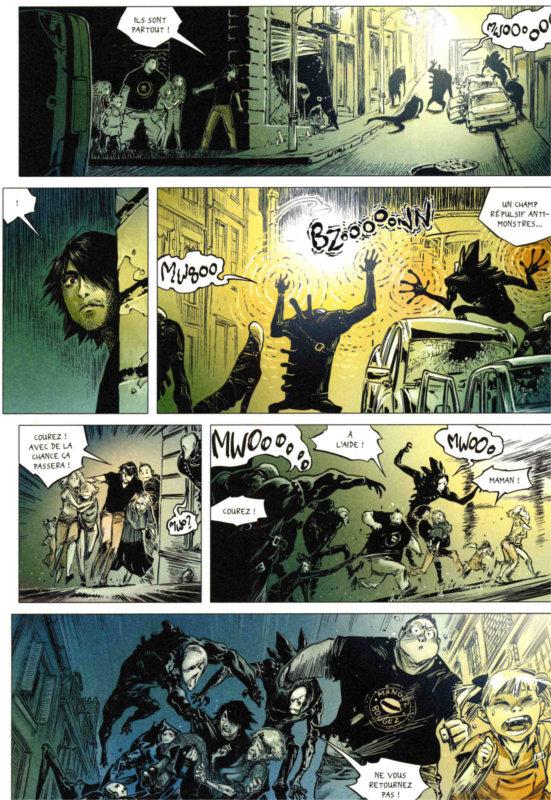 Page 4 du tome 6 de Freaks' Squele : Clémentine (par Florent Maudoux)