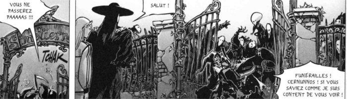 """Référence à Simetierre (livre de Stephen King) et au Seigneur des anneaux (""""vous ne passerez pas"""", phrase de Gandalf)"""