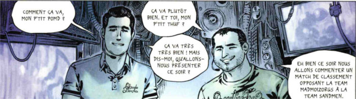 Pomf et Thud, deux commentateurs français de Starcraft 2, commentent l'enfer de Sablon