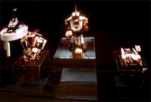 Lego Mindstroms : 3 robots fabriquables avec le set initial