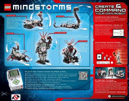Dos du Lego Mindstorms Ev3