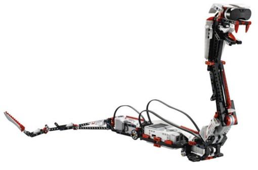 Détail du robot track3r de la boîte Lego Mindstorms