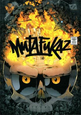 Couverture du tome 4 de Mutafukaz