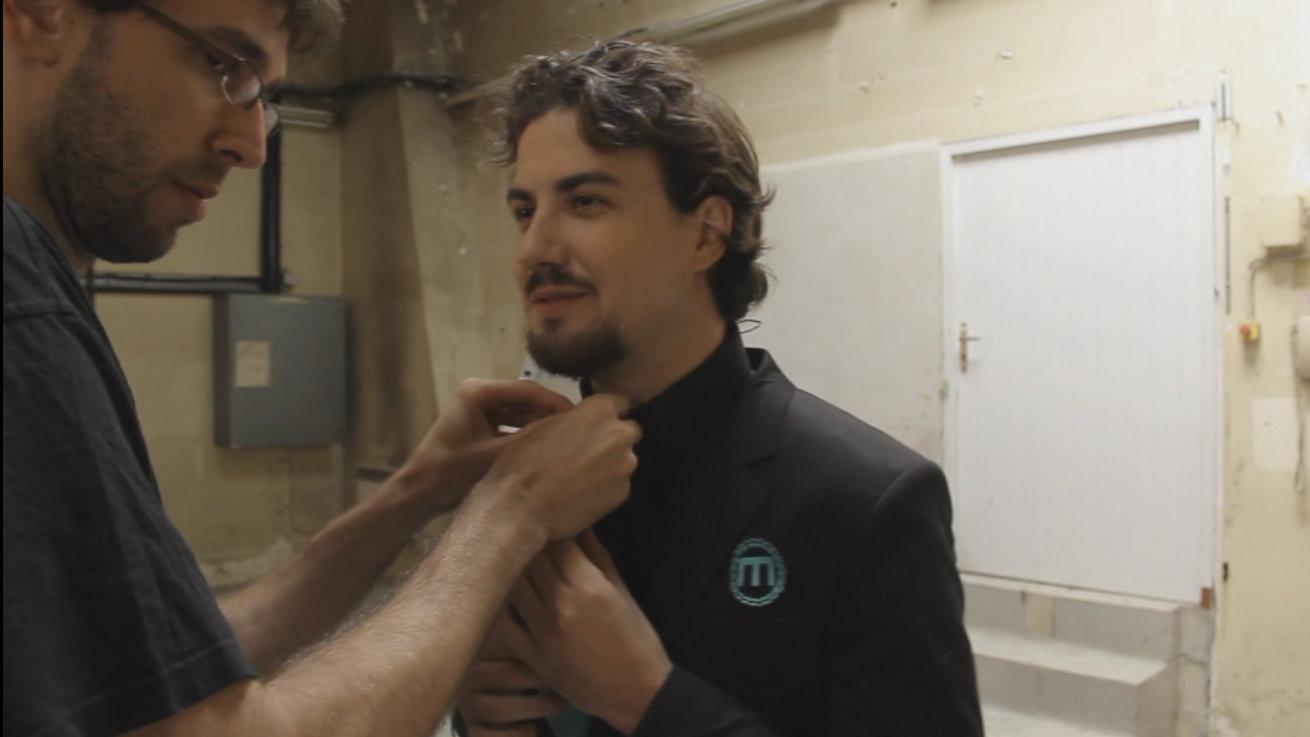 Préparation de Ludovik pour la saison 3 du Visiteur Du futur
