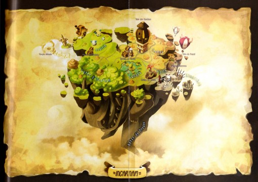 Carte Incarnam (plan Dofus)
