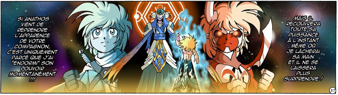 Kalandre a neutralisé Anathos pour aider les Légendaires