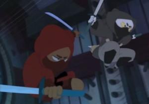 Kerubim et Indie en Ninja
