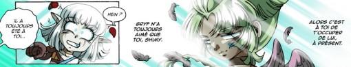 Shimy discute avec l'âme de Shun-day